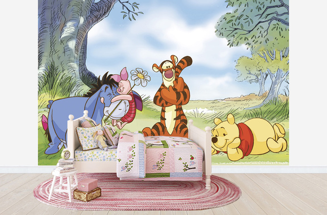Lastenhuoneen Tapetti Lasten Tapetti Disneyn Disney Nalle Puh