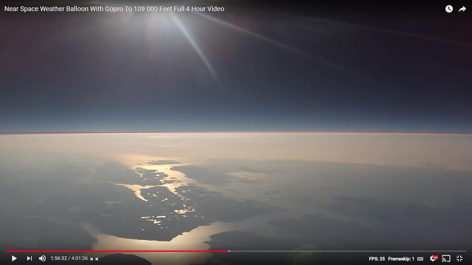 Flat Earth Insanity: Flat Earth Lies: A fisheye lens can not