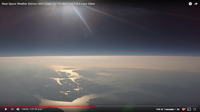 Flat Earth Insanity: The Horizon Looks Flat? Oh Really?
