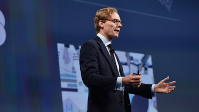 Alexander Nix, director ejecutivo de Cambridge Analytica.Bryan BedderAFP