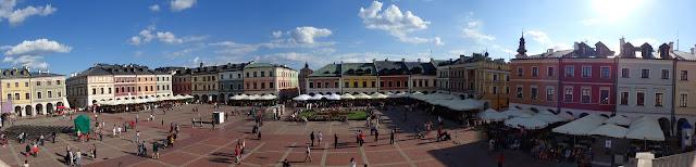 Panorama na centrum miasta