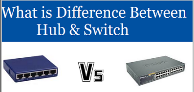 Difference Between Hub and Switch in Networking, Hub vs Switch Full Detail