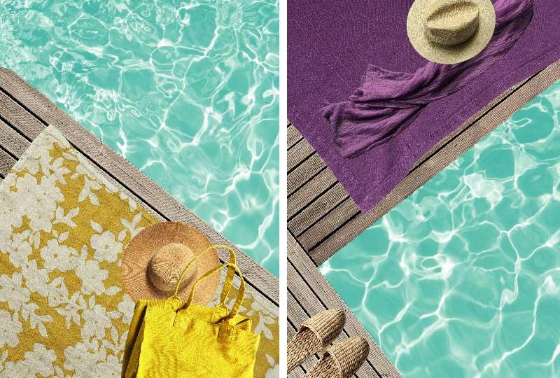 arredi e complementi di design a bordo piscina