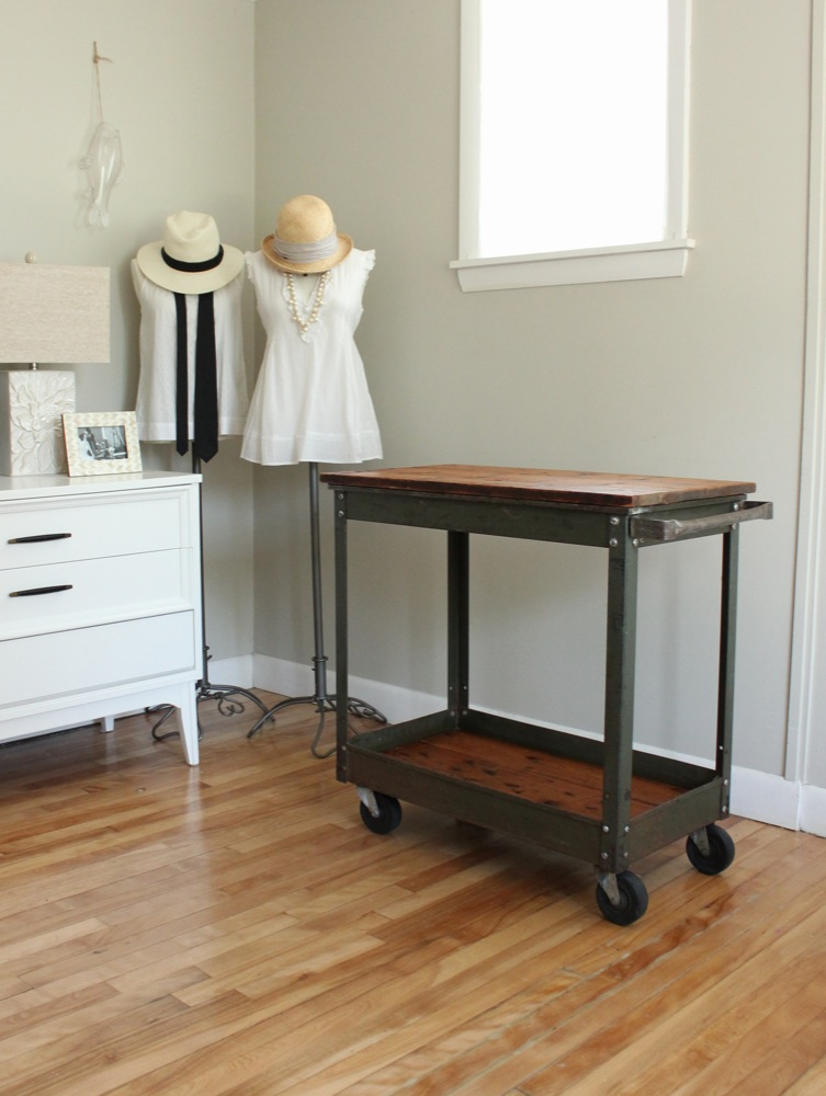 Excellent blue lamb furnishings : Reclaimed Wood Bar Cart - SOLD CJ13