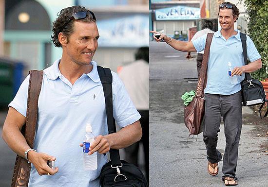 Matthew McConaughey Nicaragua