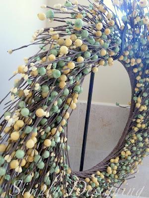 Wreath02 Cutest Spring Berry Wreath 8