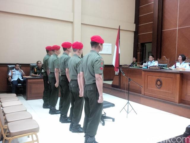 Terlibat Pengeroyokan ANggota TNI AU, 2 Personil Kopasuss dipecat