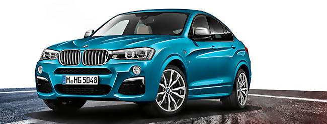 2016 BMW X4 M40i SUV Review Specs