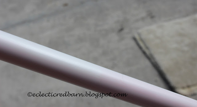 Eclectic Red Barn: Cleaned  PVC pipe