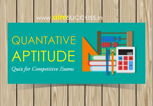 Quantitative Aptitude for SBI Exam 2018: 24 April