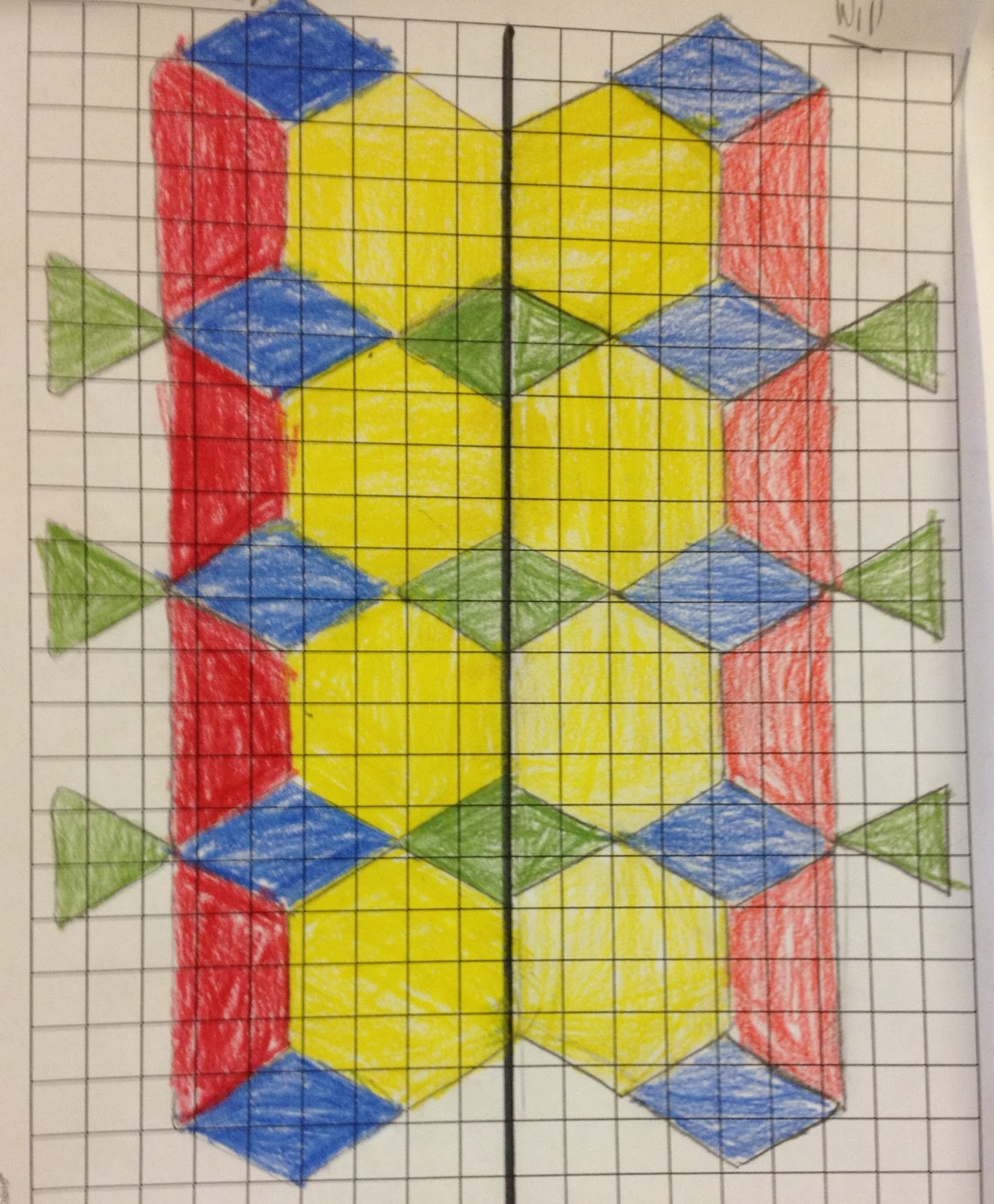 The 4th Grade May Niacs Symmetrical Creations