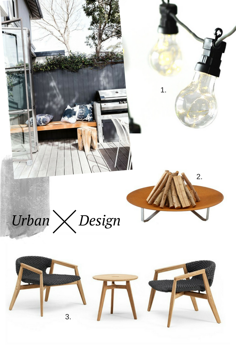 Garden, urban design, courtyard, contemporary garden, garden furniture, party space, win, competition, giveaway