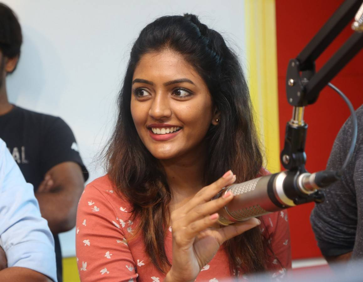 Eesha Rebba Real Face Without Makeup At Radio Mirchi Office