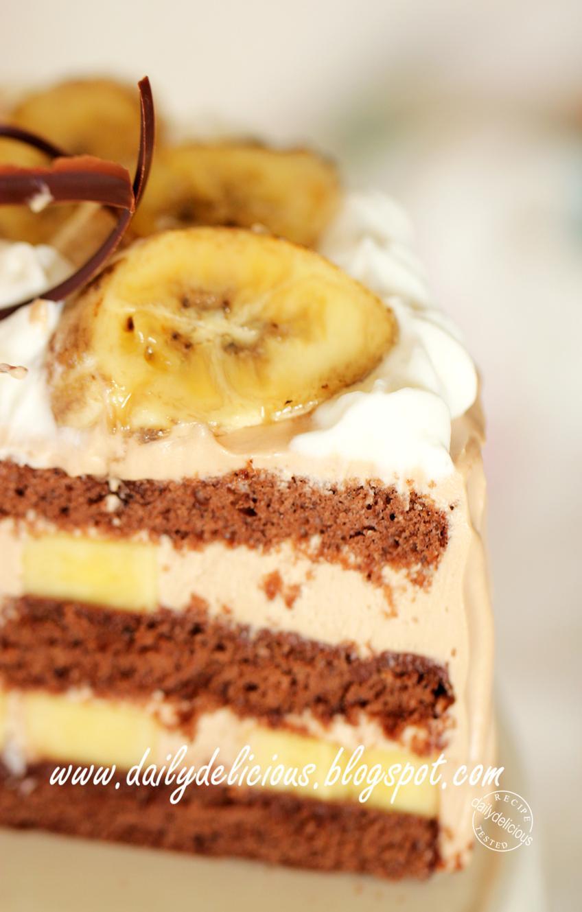 Basic Slice Recipe Taste Banana Cake