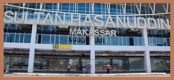 Damri dan taksi Bandara Sultan Hasanuddin Makassar