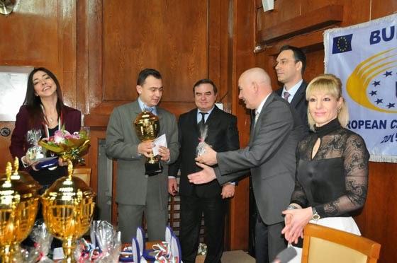 Поздравления от община Бургас за най-добрите спорстисти на Бургас за 2014