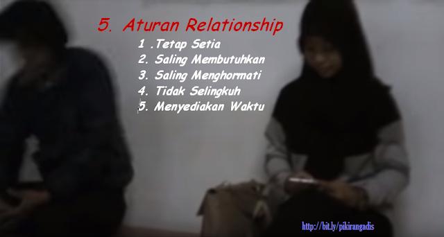 5 aturan hubungan pasangan kekasih cewek berjilbab hitam