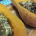 Mince, blue cheese and butternut - Weber Recipe