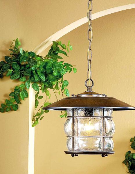 Muebles de forja lampara estilo rustico serie grelha - Lamparas estilo rustico ...