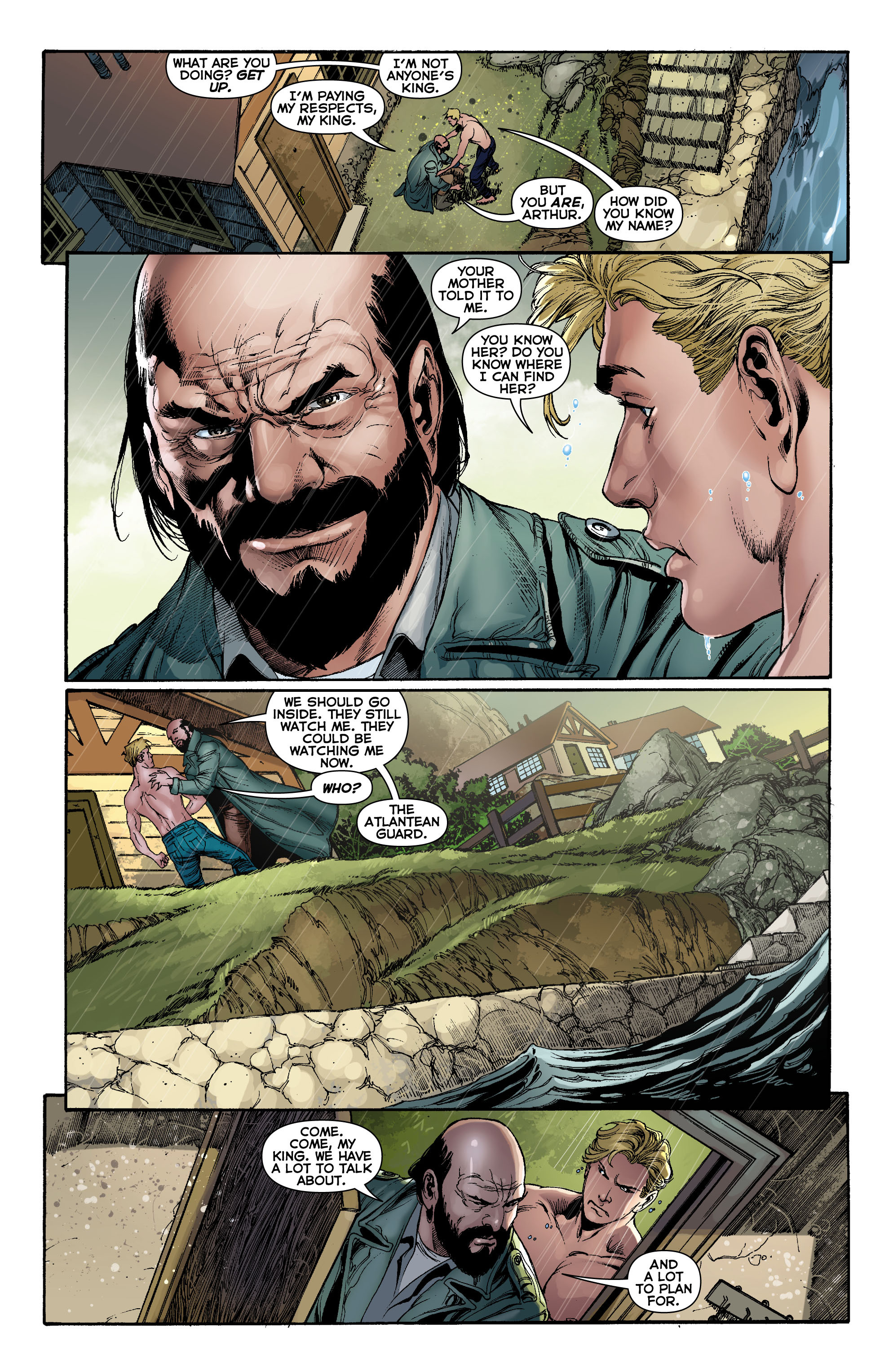Read online Aquaman (2011) comic -  Issue #0 - 15