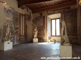 Palácio Altemps, Museu de Roma sala com afrescos do século XVI
