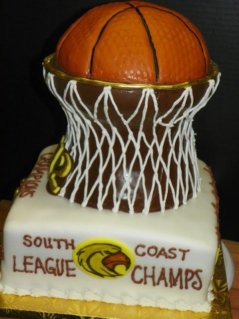 Plumeria Cake Studio Lhhs Girls Basketball Cake