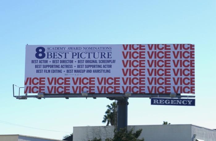 Vice Academy Award billboard