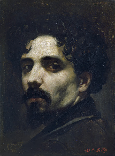 Francisco Domingo Marqués, Self Portrait, Portraits of Painters, Self Portraits, Domingo Marqués
