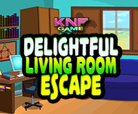 KnfGame Delightful Living Room Escape Walkthrough