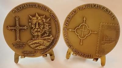 Medalla de EXFIASTUR 2018