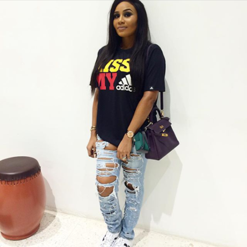 Abiola Kola-Daisi daughter of OYO state Gov steps out in distressed jeans- kokolevel