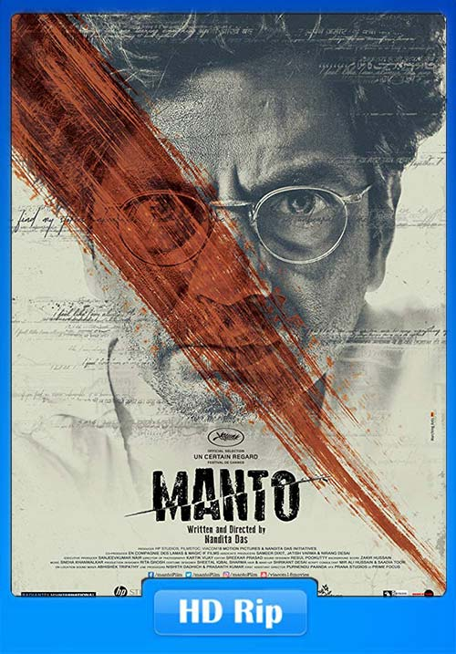Manto 2018 Hindi 720p HDRip x264 | 480p 300MB | 100MB HEVC