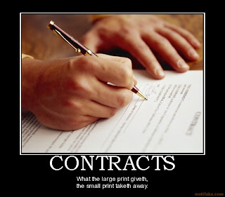Book Review Contracts?