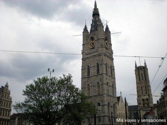 Torre del campanario o Belfort, Gante