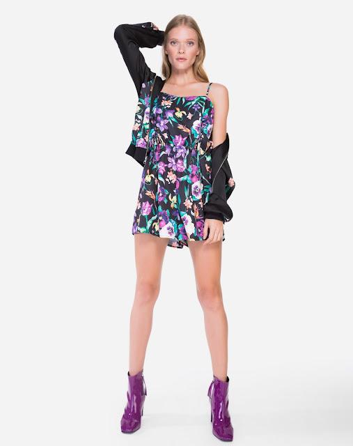 Macaquinho feito em crepe de média elasticidade, com frente dupla para melhor vestibilidade