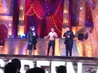 Karan Singh Grover went topless at Star screen awards