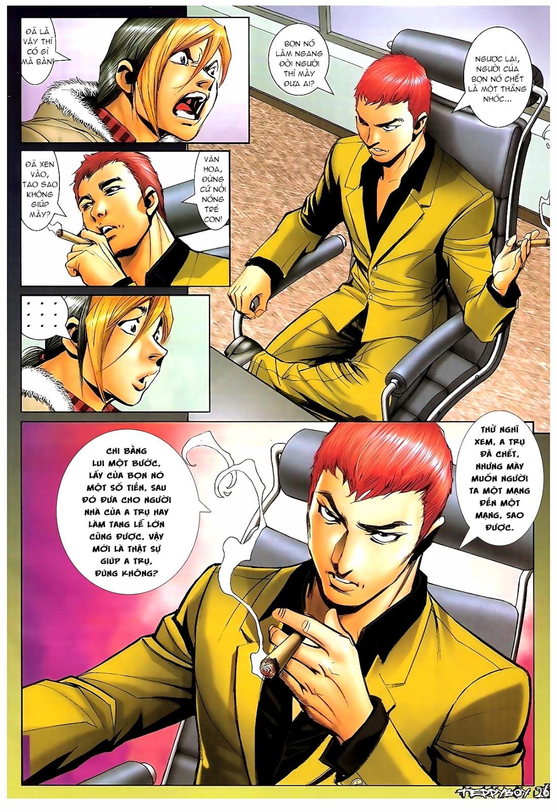 Người Trong Giang Hồ - Chapter 1383: Tiểu Xuân vs Thế Chương - Pic 21