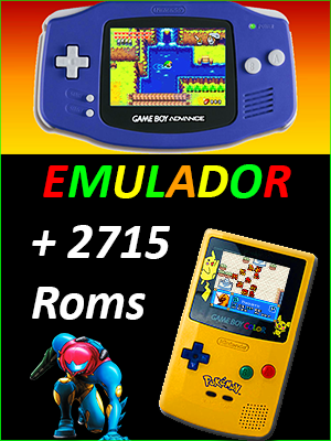 Descargar Emulador GBA + 2715 Roms [PC] [Portable] [+ Todos Los Pokemon] Gratis [MEGA-MediaFire]