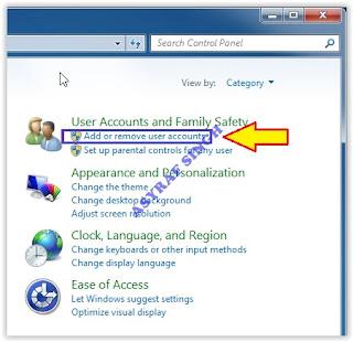 Add or remove user accounts