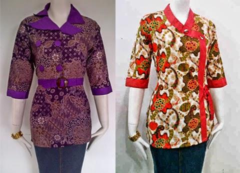 Model Baju Batik Seragam Guru Terbaru