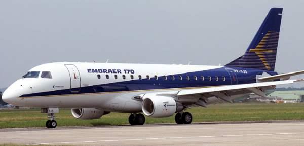 Embraer E-170 / 175 Aeronave comercial regional