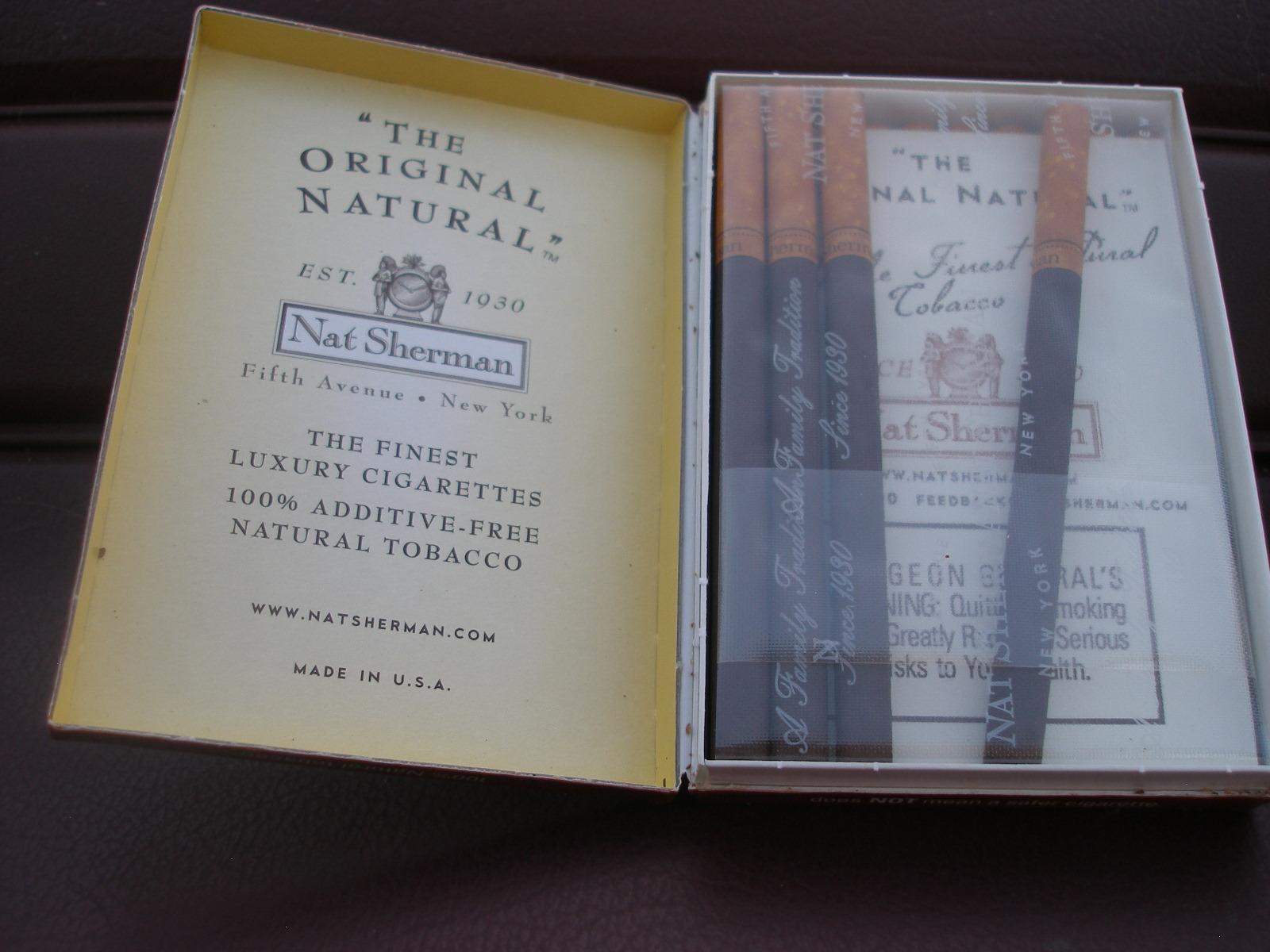 JSH's Visual Slushpile: Nat Sherman Cigarettes