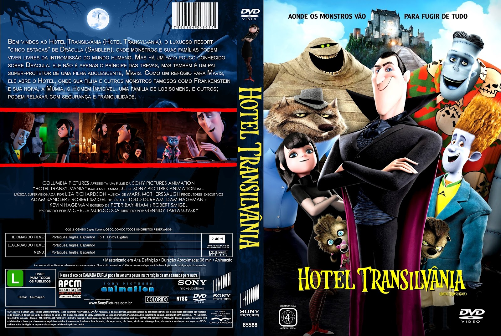 Lillianspears [hd-1080p]. Hotel transylvania 3 pelicula'completa.