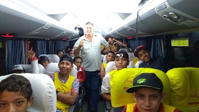 Crianças assistidas pelo CRAS de Cajati fazem viagem memorável