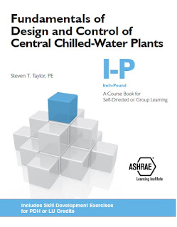Fundamentals of Design and Control of Central Chilled-Water Plants,ashrae,CHW plant,fundamentals,chiller plants,chiller plants,Chilled water planet load,Hydronic distribution system,Chiller Procurement