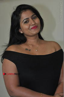 Telugu Actress Swathi Reddy Latest Stills in Black Gown  0007.JPG