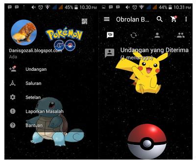 Download BBM MOD Apk Pokemon Go Terbaru 2016