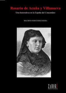 Portada del libro «Rosario de Acuña y Villanueva.Una heterodoxa en la España del Concordato»