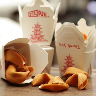 Father's Day Project Chinese take-out with fortune cookies!