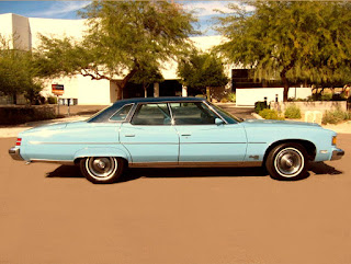 1975 Pontiac Grand Ville Side Right